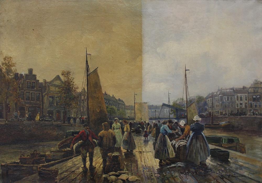 Häufig Gemälde Reinigung - Mike Beer Restaurierung Düsseldorf GK57